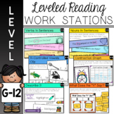 Guided Reading Work Stations for Level G