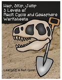 Leveled Science Challenges: Rock Cycle, Fossils, Earth's Layers (Differentiated)