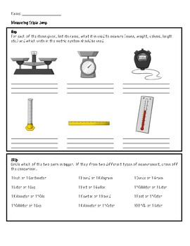 Leveled Science Challenges: Scientific Method and Measurement (Differentiated)