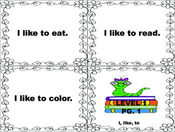 Leveled Sentences Set 1