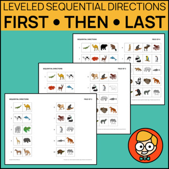 Leveled Sequential Directions: First-Then-Last, First-Second-Third