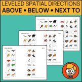 Leveled Spatial Directions: Above, Below, Next To (Beside)