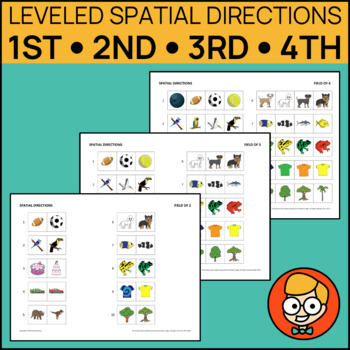 Leveled Spatial Directions: First, Second, Third, Fourth