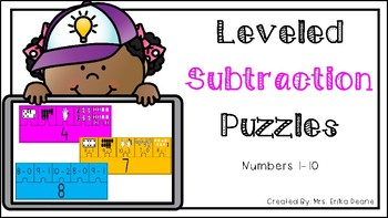 Leveled Subtraction Facts within 10