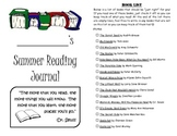 Leveled Summer Reading Journal--Books at a F&P Level G
