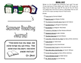 Leveled Summer Reading Journal--Books at a F&P Level H