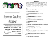 Leveled Summer Reading Journal--Books at a F&P Level N