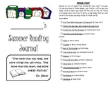 Leveled Summer Reading Journal--Books at a F&P Level O