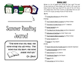 Leveled Summer Reading Journal--Books at a F&P Level S