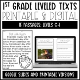 Leveled Text: 1st Grade