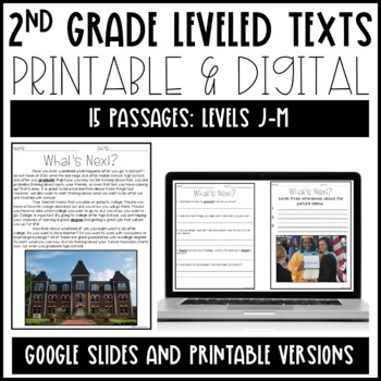 Leveled Text: 2nd Grade