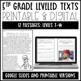 Leveled Text: 5th Grade and 6th Grade