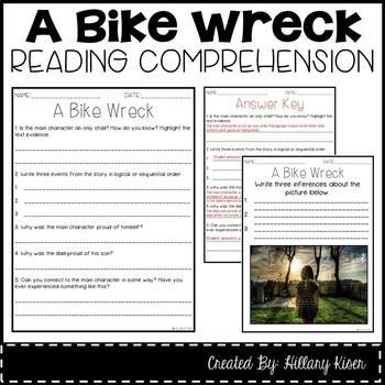 Leveled Text N: A Bike Wreck