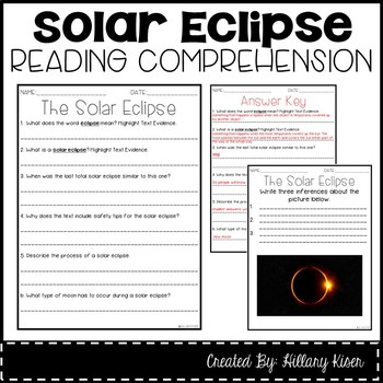 Leveled Text S: A Solar Eclipse