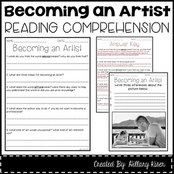 Leveled Text S: Becoming an Artist