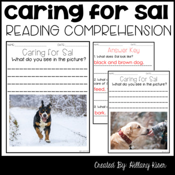 Leveled Text E: Caring for Sal