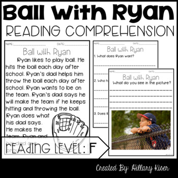 Leveled Text F: Ball with Ryan