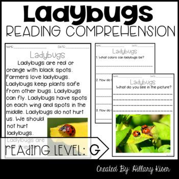 Leveled Text G: Ladybugs