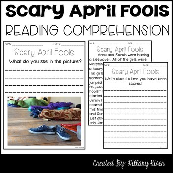 Leveled Text H: Scary April Fools