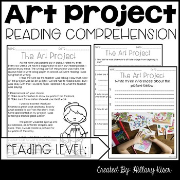 Leveled Text I: The Art Project