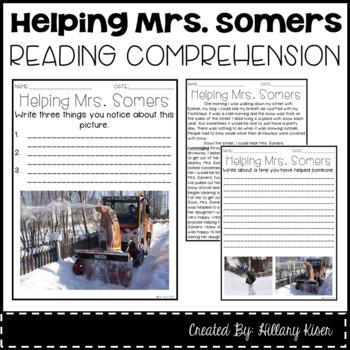 Leveled Text I: Helping Mrs. Somers