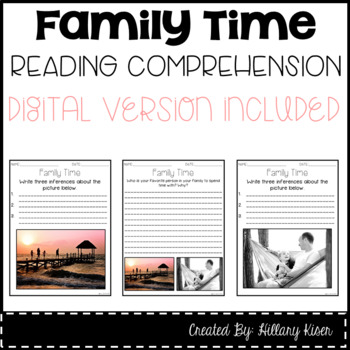Leveled Text J: Family Time