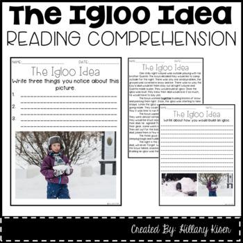 Leveled Text J: The Igloo Idea