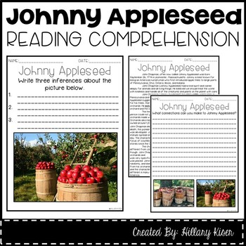 Leveled Text Z: Johnny Appleseed