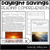 Leveled Text K: Daylight Savings Time