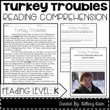 Leveled Text K: Turkey Troubles