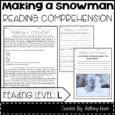 Leveled Text L: Making a Snowman