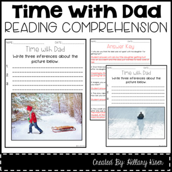 Leveled Text L: Time with Dad