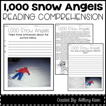 Leveled Text M: 1,000 Snow Angels