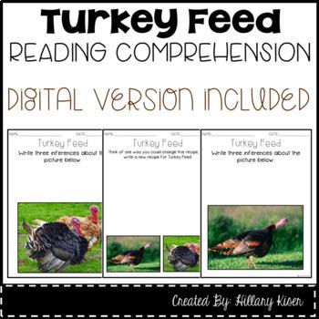 Leveled Text M: Turkey Feed
