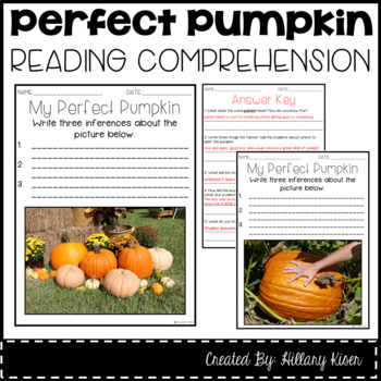 Leveled Text O: My Perfect Pumpkin