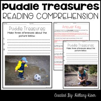 Leveled Text O: Puddle Treasures