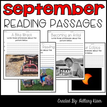 Leveled Text: September Reading Passages