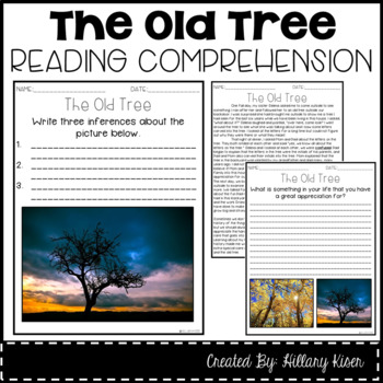 Leveled Text P: The Old Tree