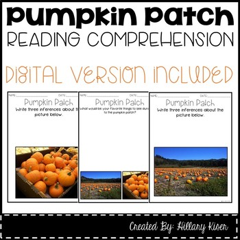Leveled Text L: Pumpkin Patch