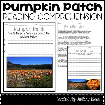 Leveled Text L: Pumpkin Patch