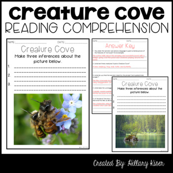 Leveled Text Q: Creature Cove