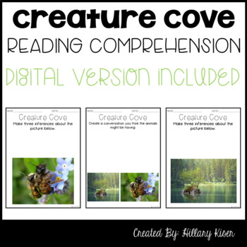 Leveled Text Q: Creature Cove