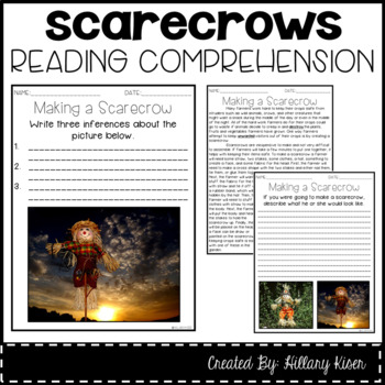 Leveled Text Q: Making a Scarecrow