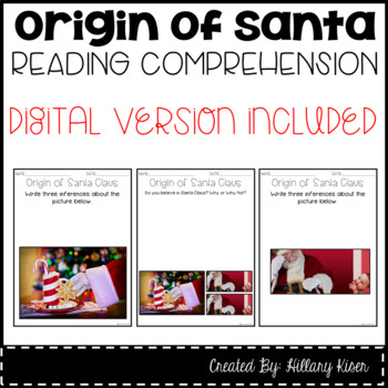 Leveled Text S: The Origin of Santa Claus