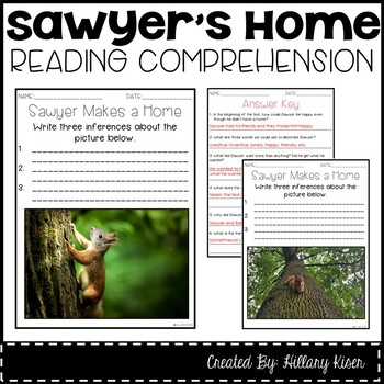 Leveled Text Q: Sawyer Makes a Home