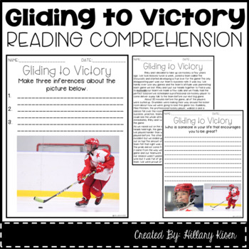 Leveled Text T: Gliding to Victory