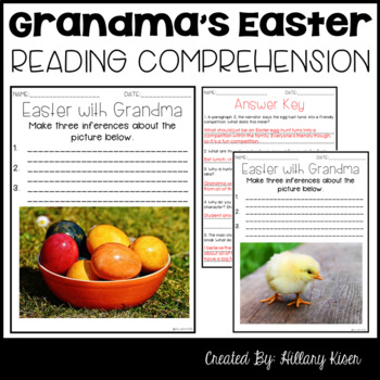 Leveled Text U: Easter with Grandma