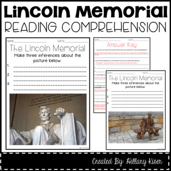 Leveled Text Z: The Lincoln Memorial