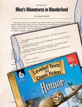 Leveled Texts: Alice's Adventures in Wonderland (eLesson)