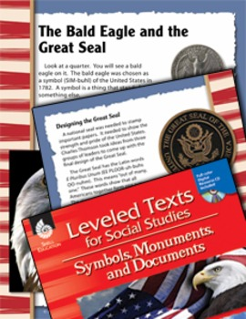 Leveled Texts: Bald Eagle and Great Seal (eLesson)